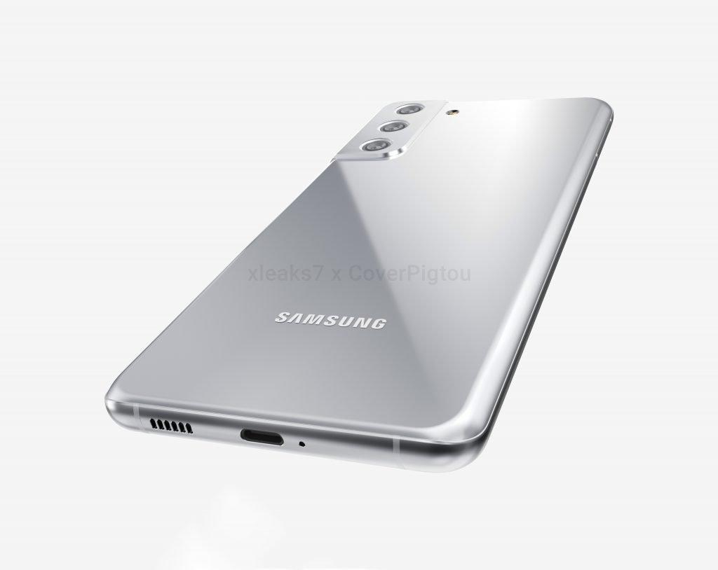 Samsung Galaxy S21 Plus rear