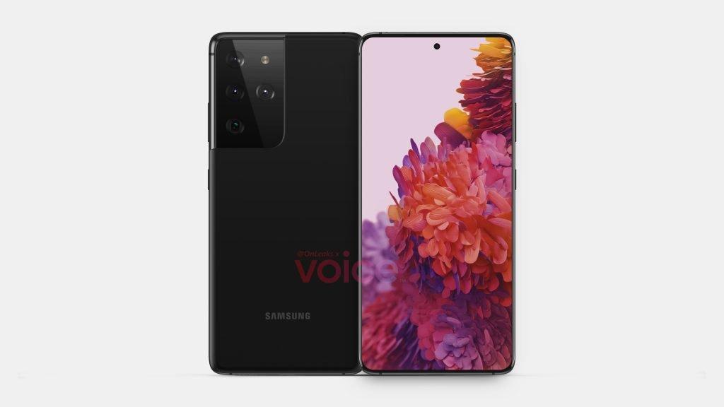 Samsung Galaxy S21 Ultra front display