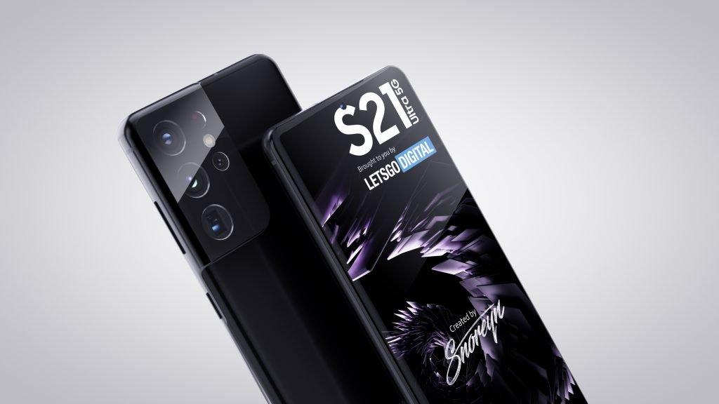 samsung galaxy s21 ultra side renders