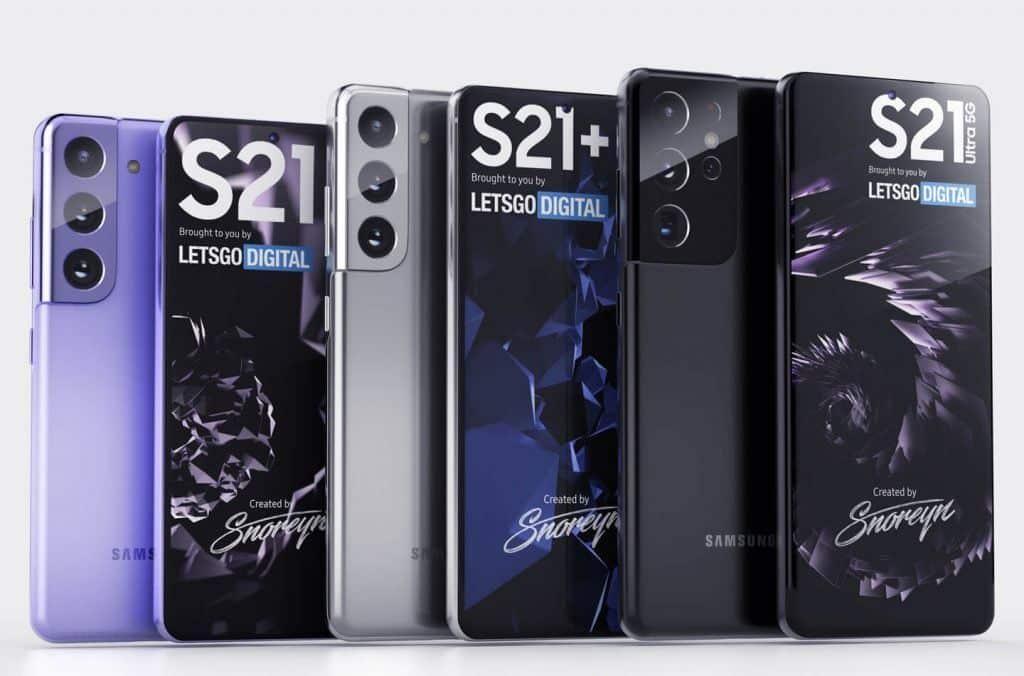 Samsung Galaxy S21 Range Revealed